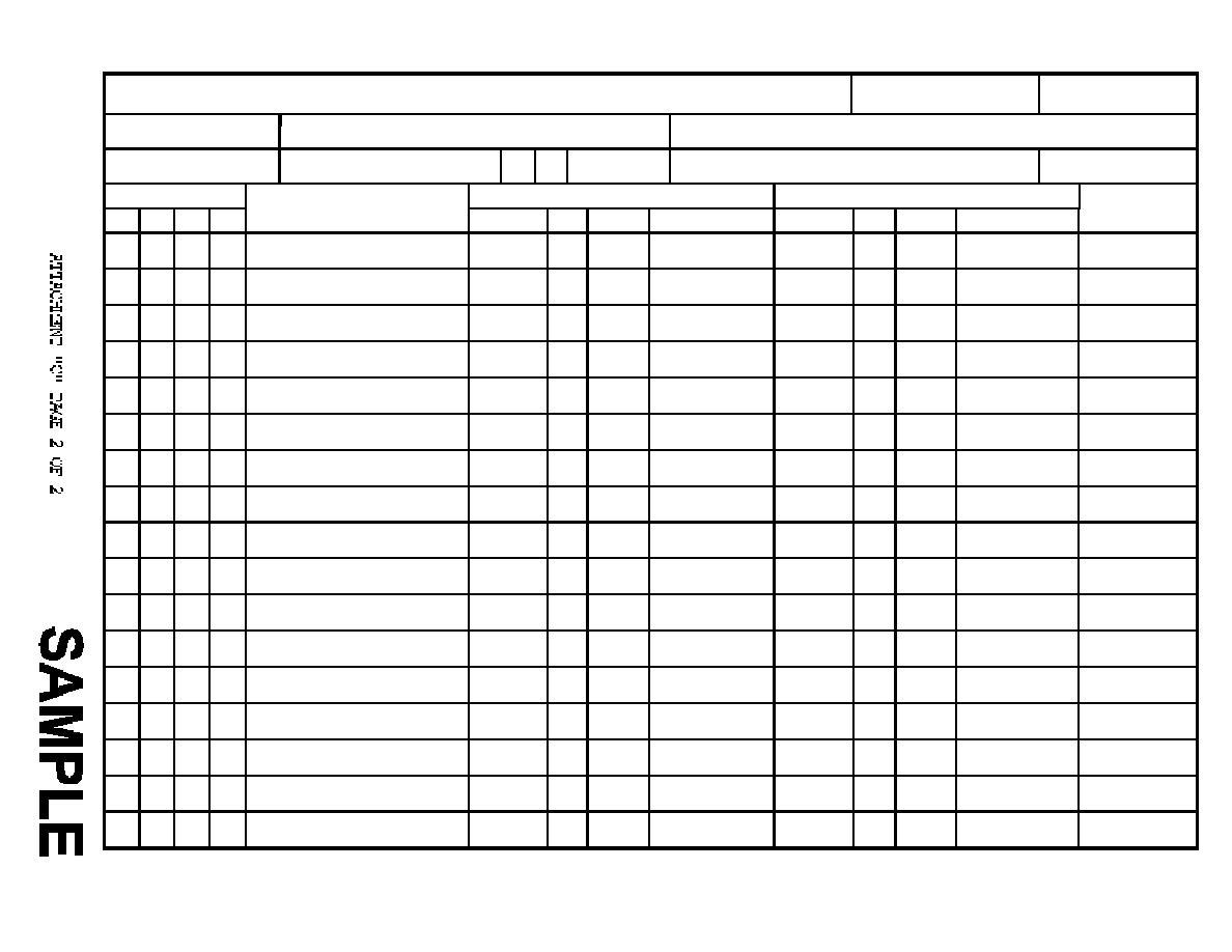 Estimate Worksheet Cont