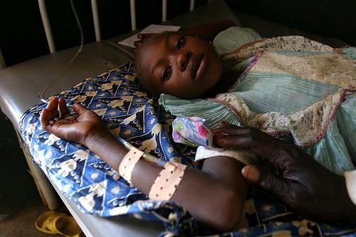 Los niños vacunados en África fueron severamente dañados por las vacunas.