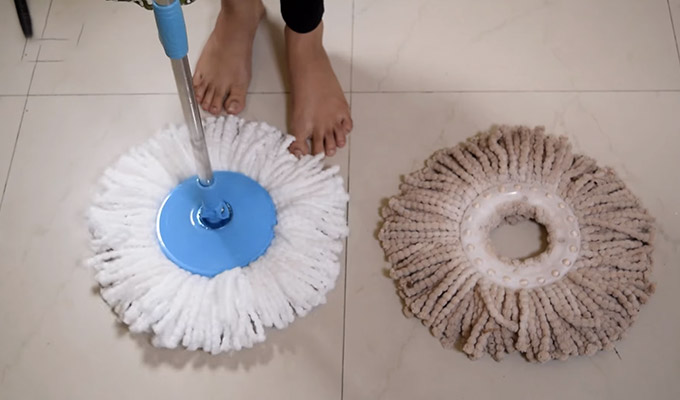 How To Change Spin Mop Head FI