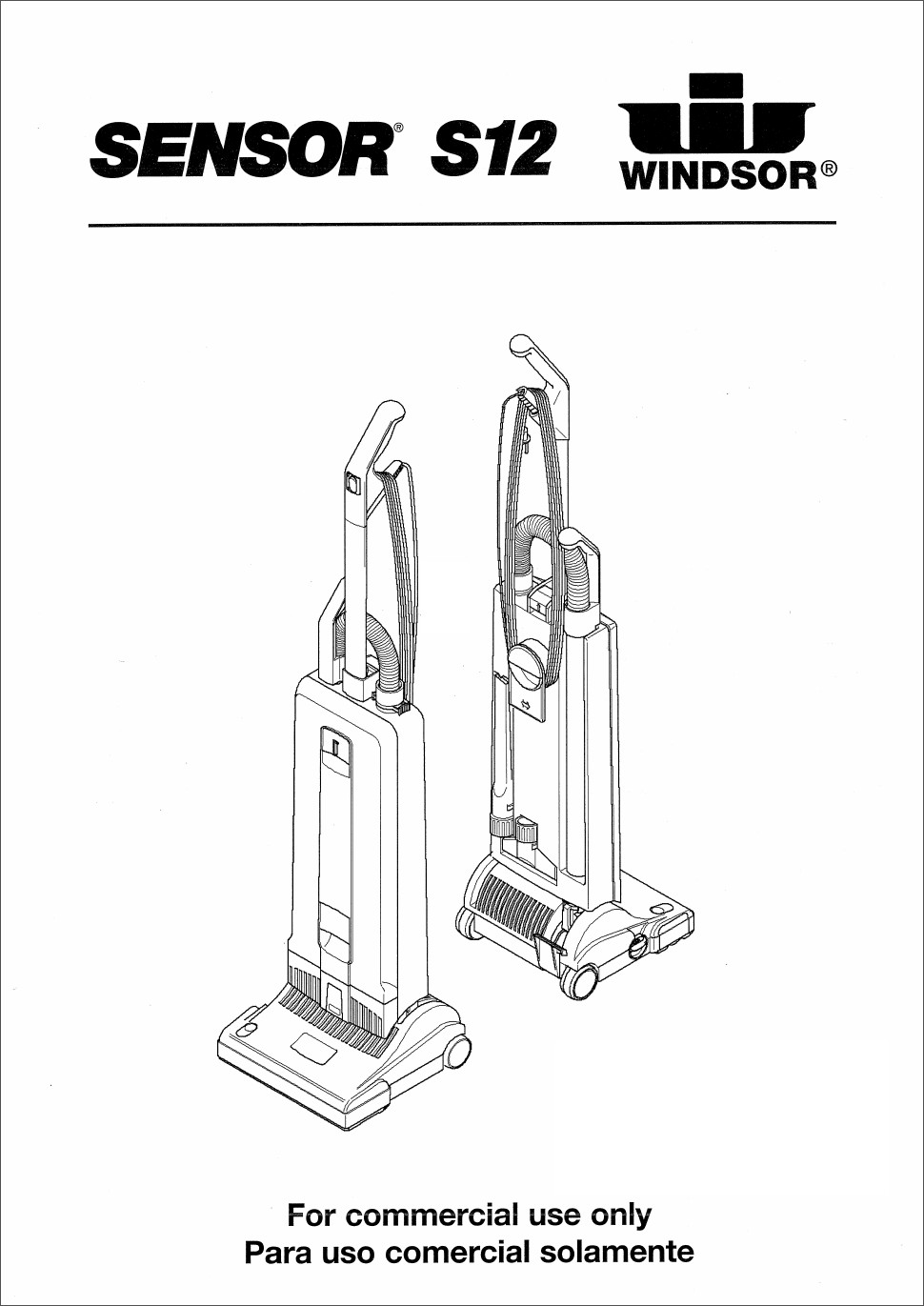 Windsor Sensor S12 Vacuum Manual • VacuumCleaness