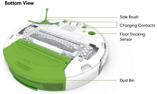 iRobot Roomba 900 bottom view