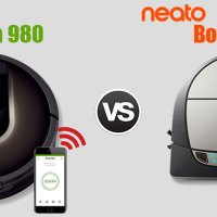 Neato Botvac D7 VS. iRobot Roomba 980 - Best Connected Robovac for your HOME CLEANING