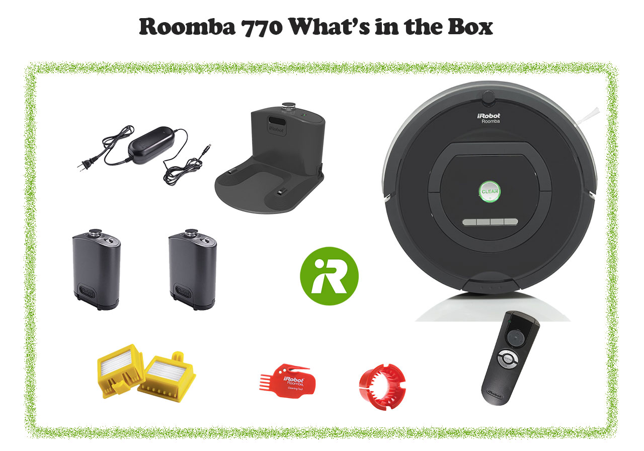 Roomba 770 in box