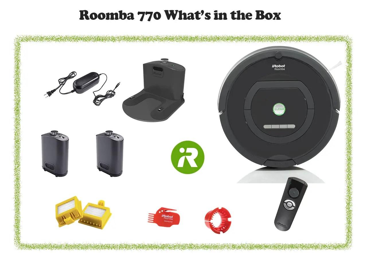 Roomba 770 in box