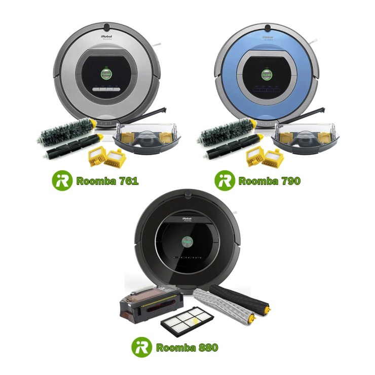 761 790 and 880 Roomba