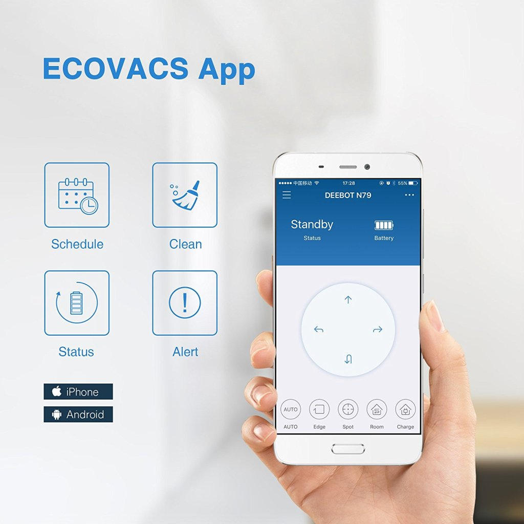 EcoVac, Deebot N79, Vacuum Fanatics, Reviews, Comparisons