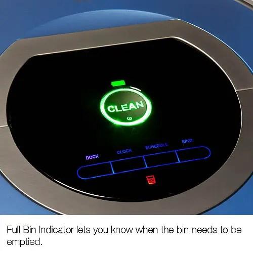 Roomba 790 full bin indicatior