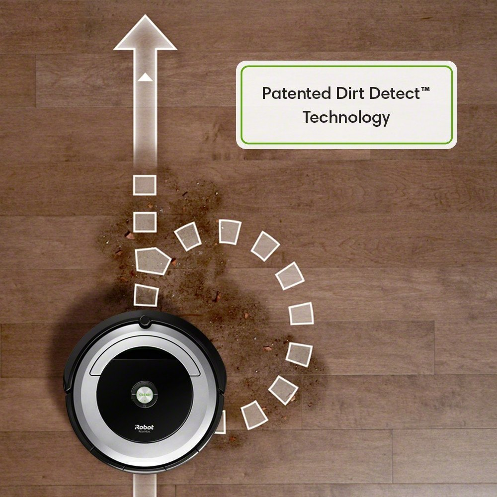 iRobot Roomba 690, Dirt Detect, Vacuum Fanatics, Reviews and Comparisons of Robotic Cleaners