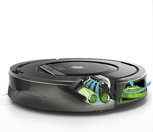 roomba 880 aeroforce clean system