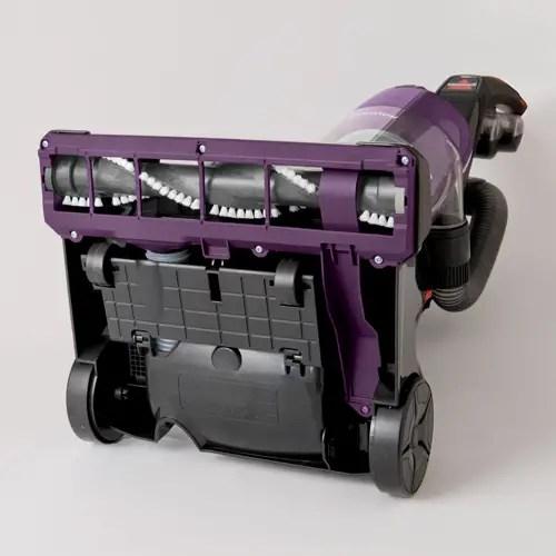 Upright Vacuum 9595 Bottom View Brushroll