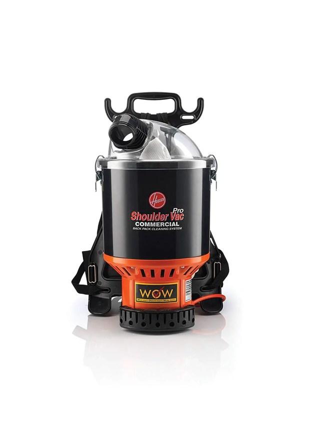 Hoover Commercial Lightweight Backpack Vacuum C2401, Vacuum Fanatics
