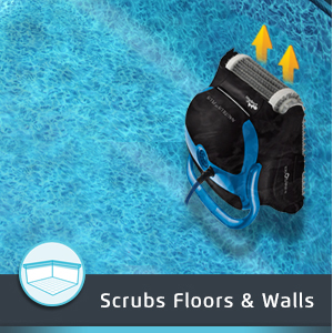 Dolphin Nautilus CC Pluse Dual Scrubbing Brushes Scrubs Floos and Walls