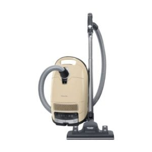 New Miele Complete C3 Alize Canister Vacuum, Ivory White