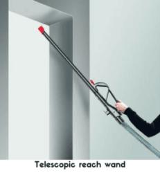 Telescopic reach wand