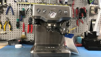 Breville espresso machine before repair