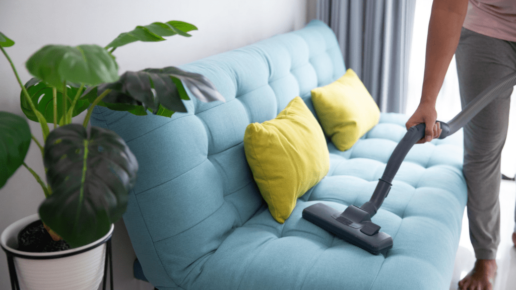 Benefits of Vacuuming Daily: Decorative image