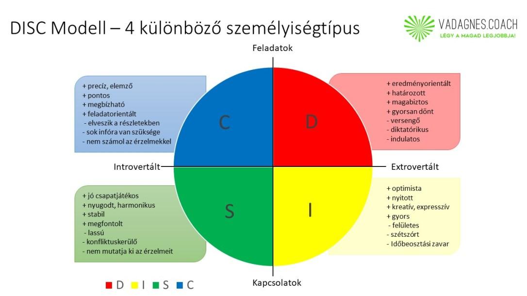 DISC-Modell, Vad Ágnes Business és Life Coach, Emberi Potenciál Maximalizáló Coach