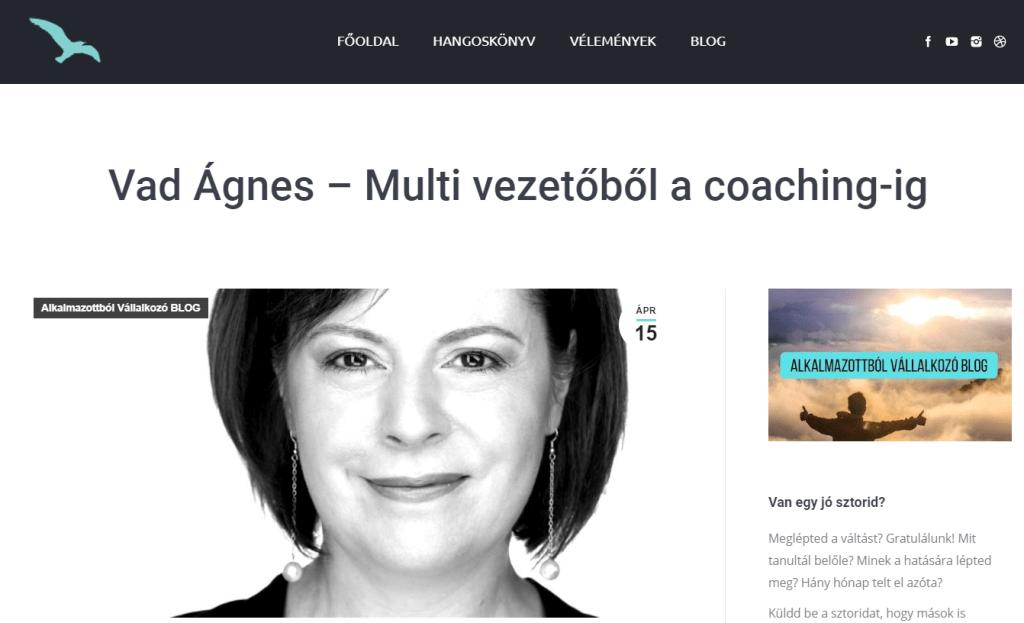 Dallos Zoltán - Vad Ágnes Coach Interjú