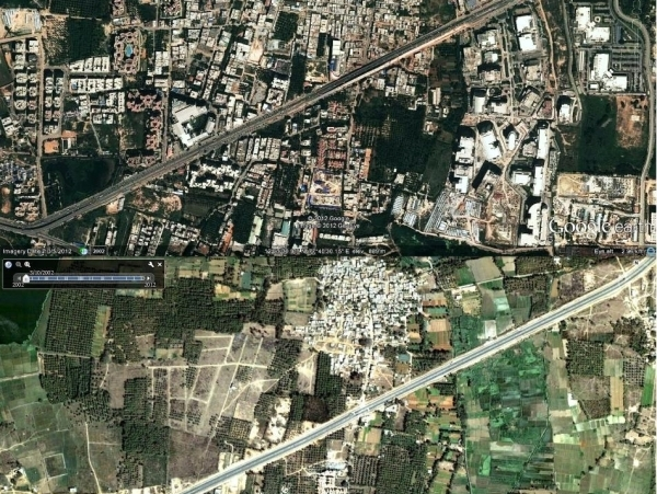 Bangalore - Now (2012) and Then (2000) - Part 1
