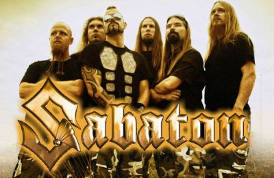 Sabaton - Photo of their Band with the Logo - Fan art