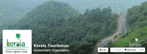 Kerala Tourism German Facebook Page