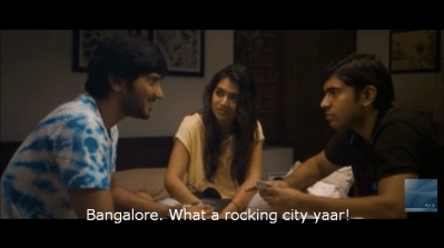 Bangalore what a rocking city yaar still from Bangalore Days