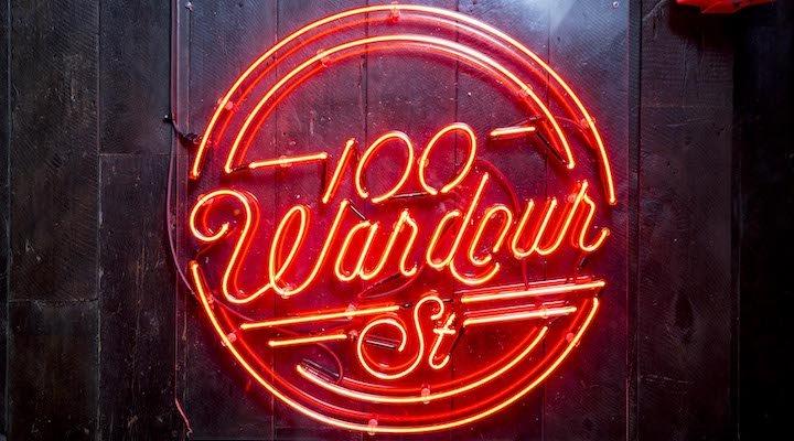 100 Wardour St Soho London Valentine's Day