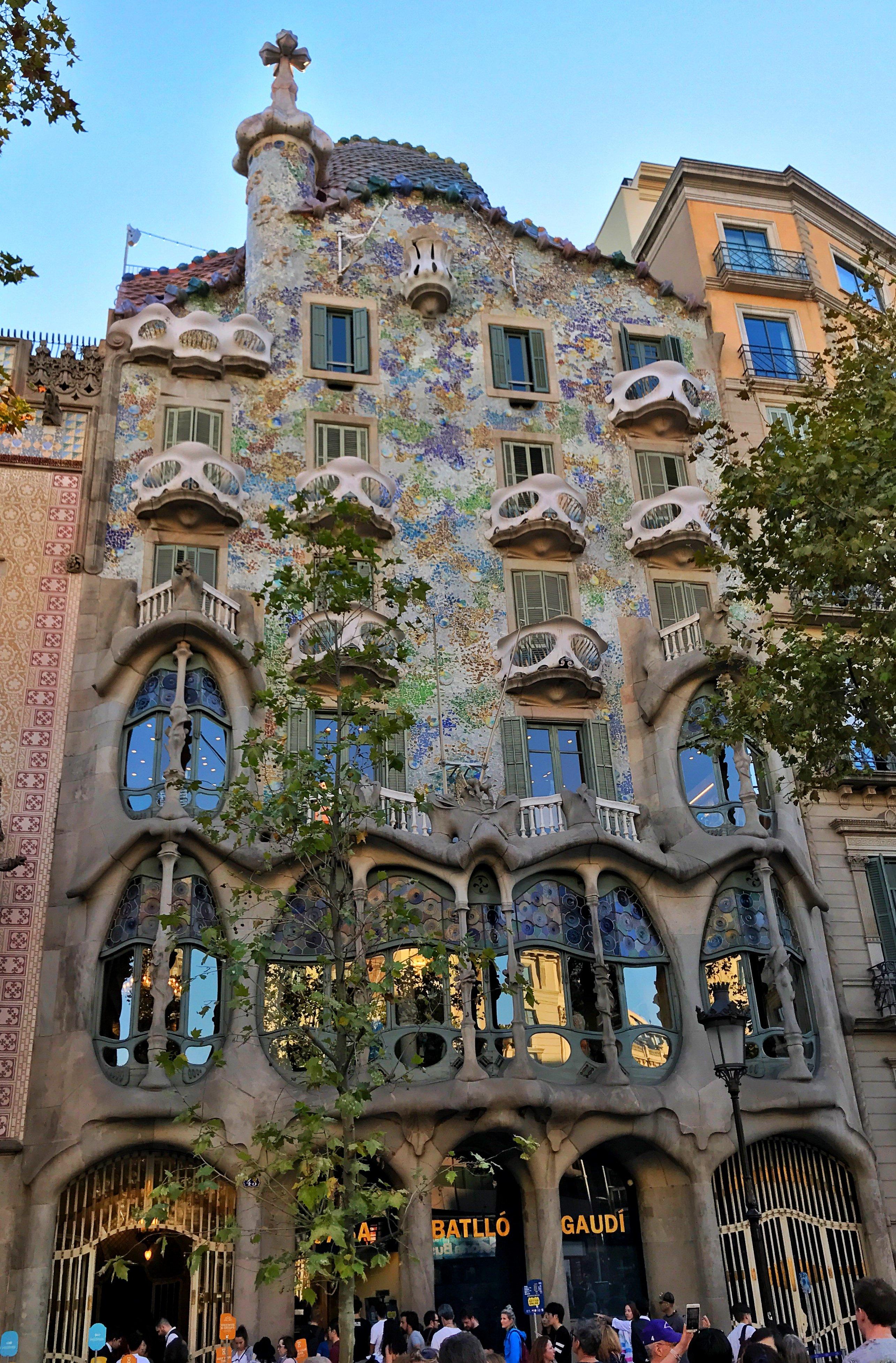 LGBT travel guide Barcelona - Gaudi architecture