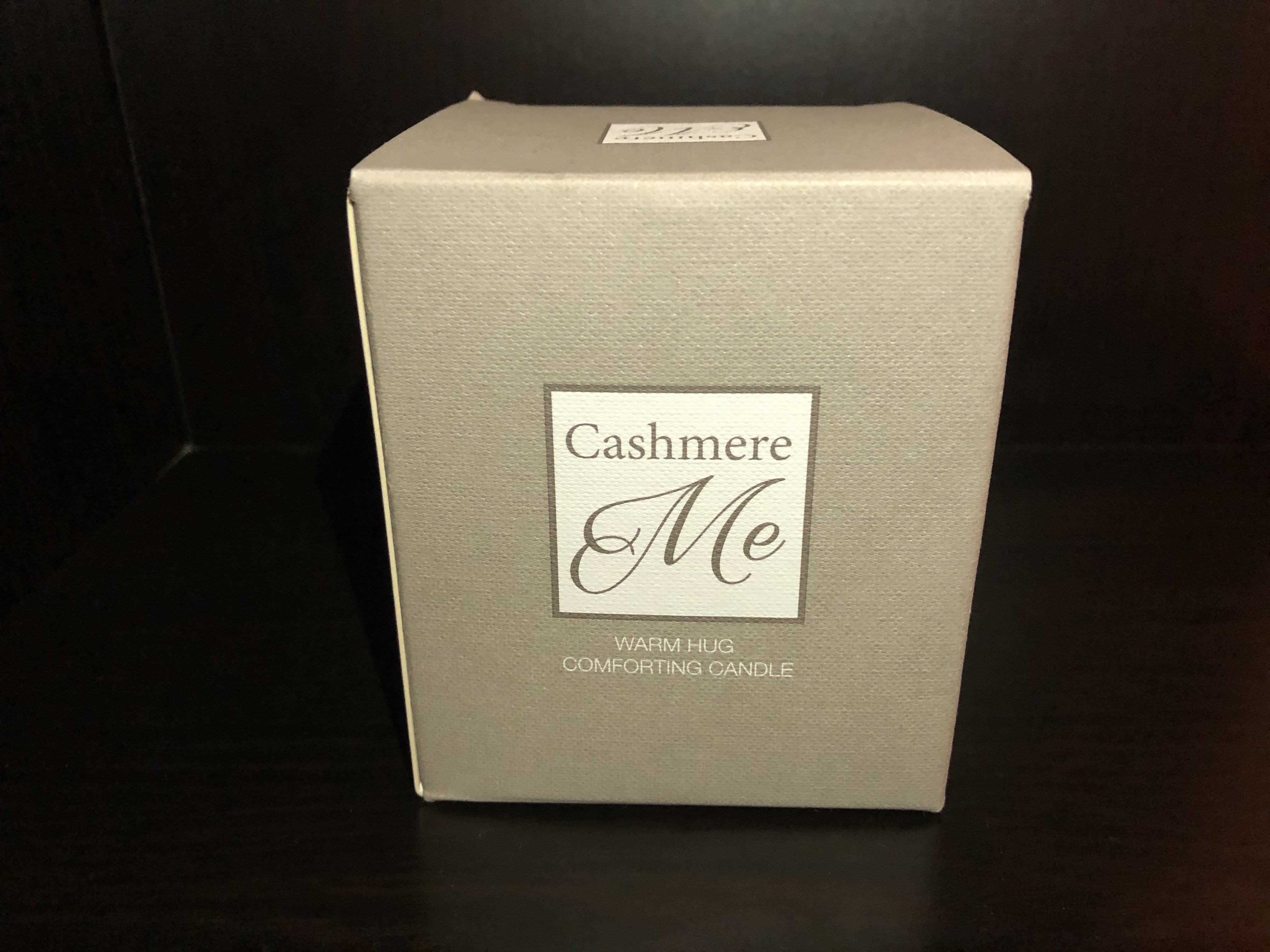 Cashmere Me candle reed diffuser