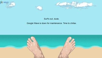 google-wave-maintenance