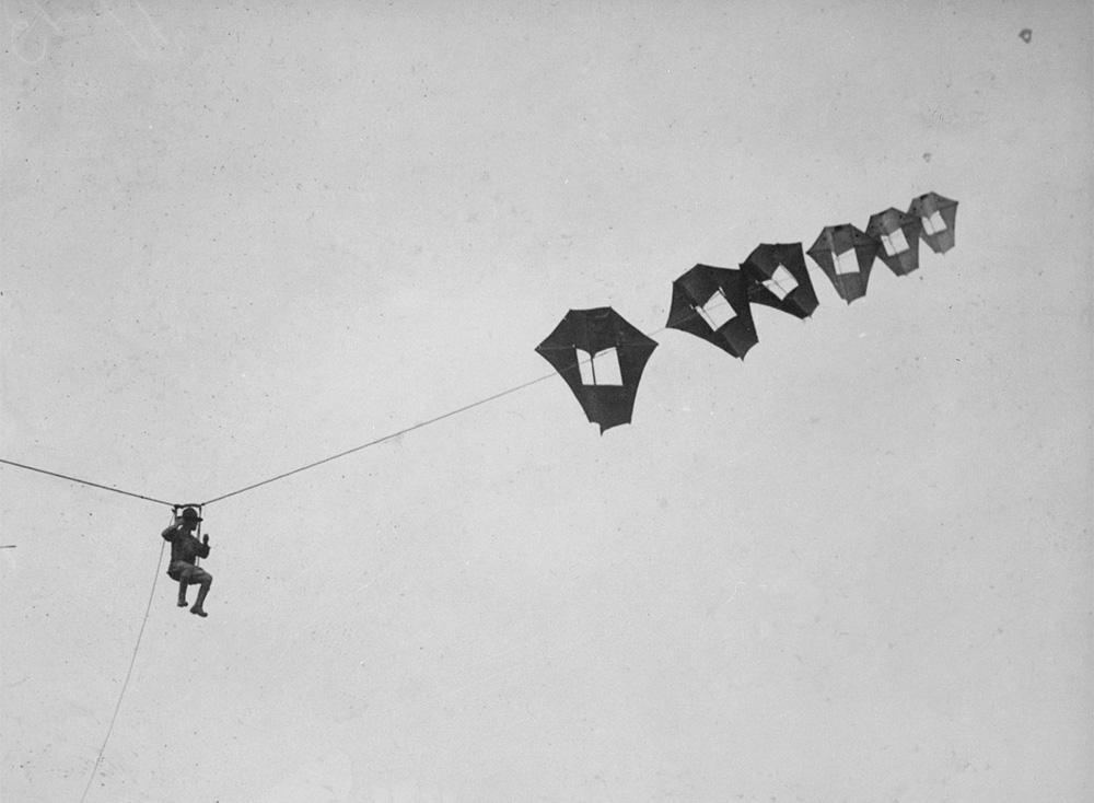 Воздушый змей в Первую мировую