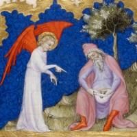 КАК АВРААМ ОБРЕЗАЛСЯ Замечательная картинка из Библии Жана де Си (Франция, 1355-1357), где вполне реалистично...