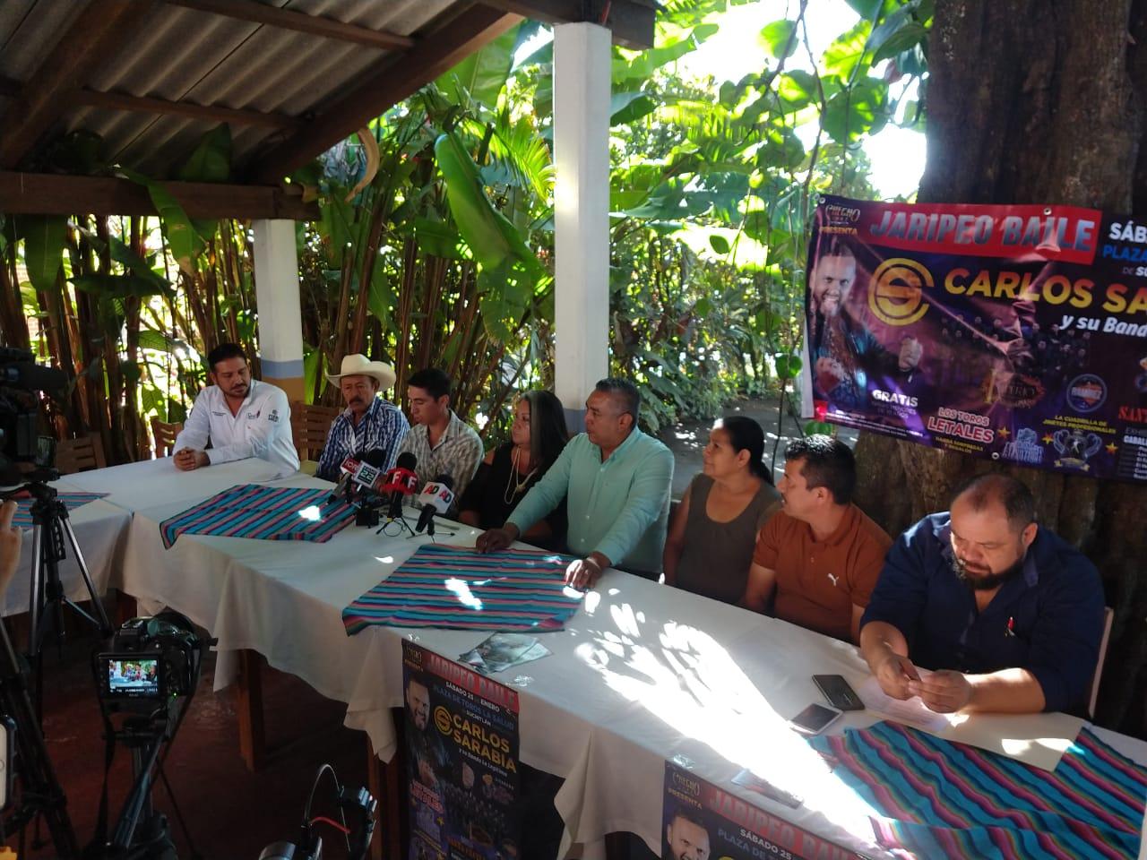 Del 24 de enero al 2 de febrero serán los Festejos Charrotaurinos de Suchitlán; habrá jaripeo baile y cabalgata