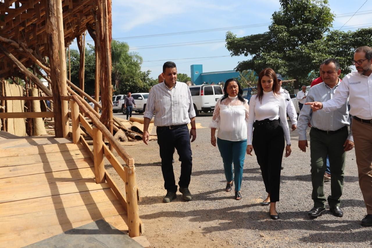 Recorren La Petatera; será Incluyente esta Plaza