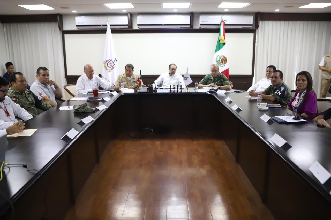 Reconoce Gobernador la coordinación institucional para operativo vacacional