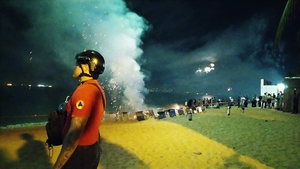 Brindó Protección Civil Manzanillo 124 servicios durante el periodo vacacional