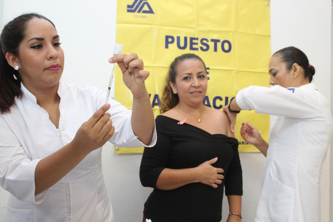 Avanza la vacunación contra la influenza en el estado
