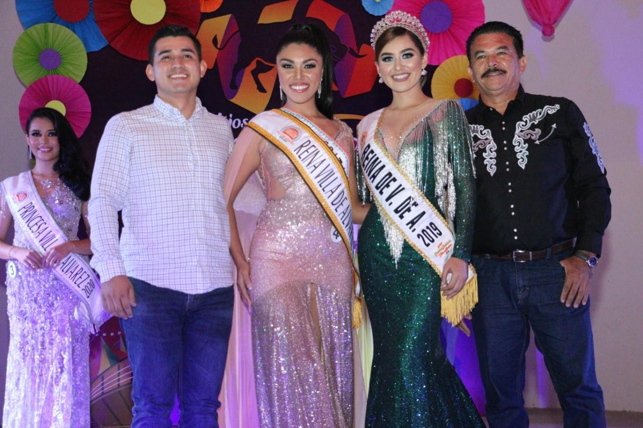 Yamila Palacios, Reina de los Festejos Charro Taurinos de Villa de Álvarez 2020
