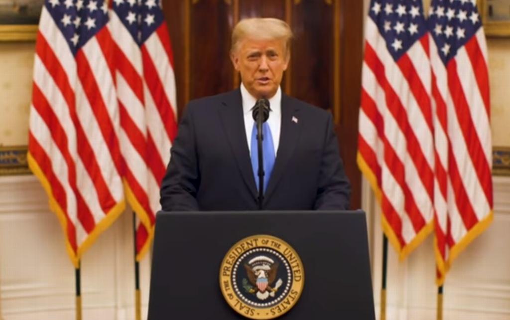 Hicimos lo que vinimos a hacer y mucho más: Trump en discurso de despedida