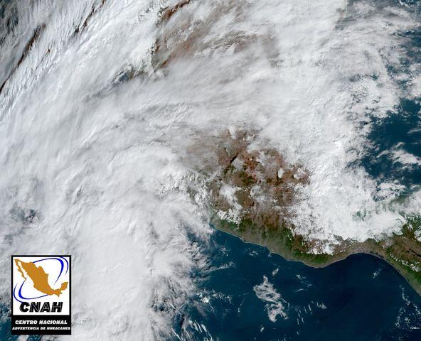 Continuarán las lluvias durante este día en Colima