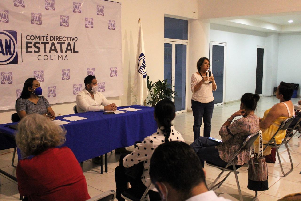 Aprueba Comisión Permanente Estatal del PAN la candidatura de Martha Sosa a gobernadora