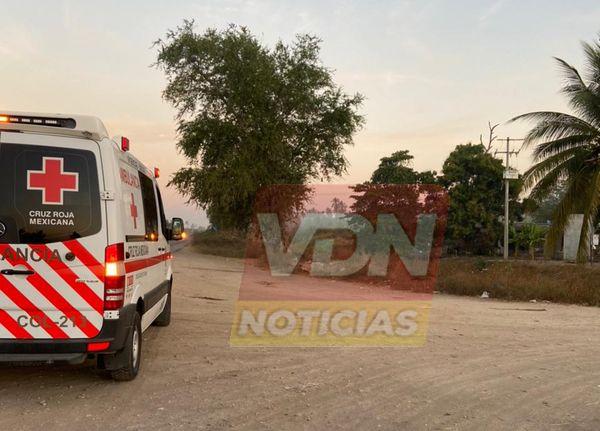 Muere atropellado motociclista en la carretera Tecomán-Cerro de Ortega
