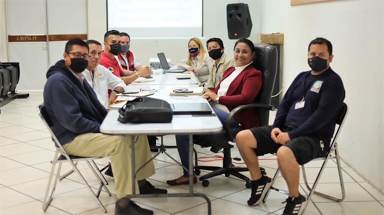 Coordinan acciones Ayuntamiento de Manzanillo y CONAFOR en la prevención de incendios forestales