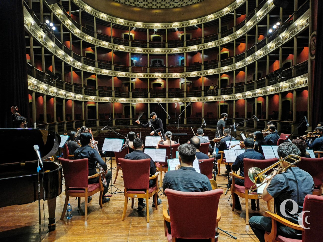 Transmitirán concierto de Orquesta de Cámara Colimense este sábado