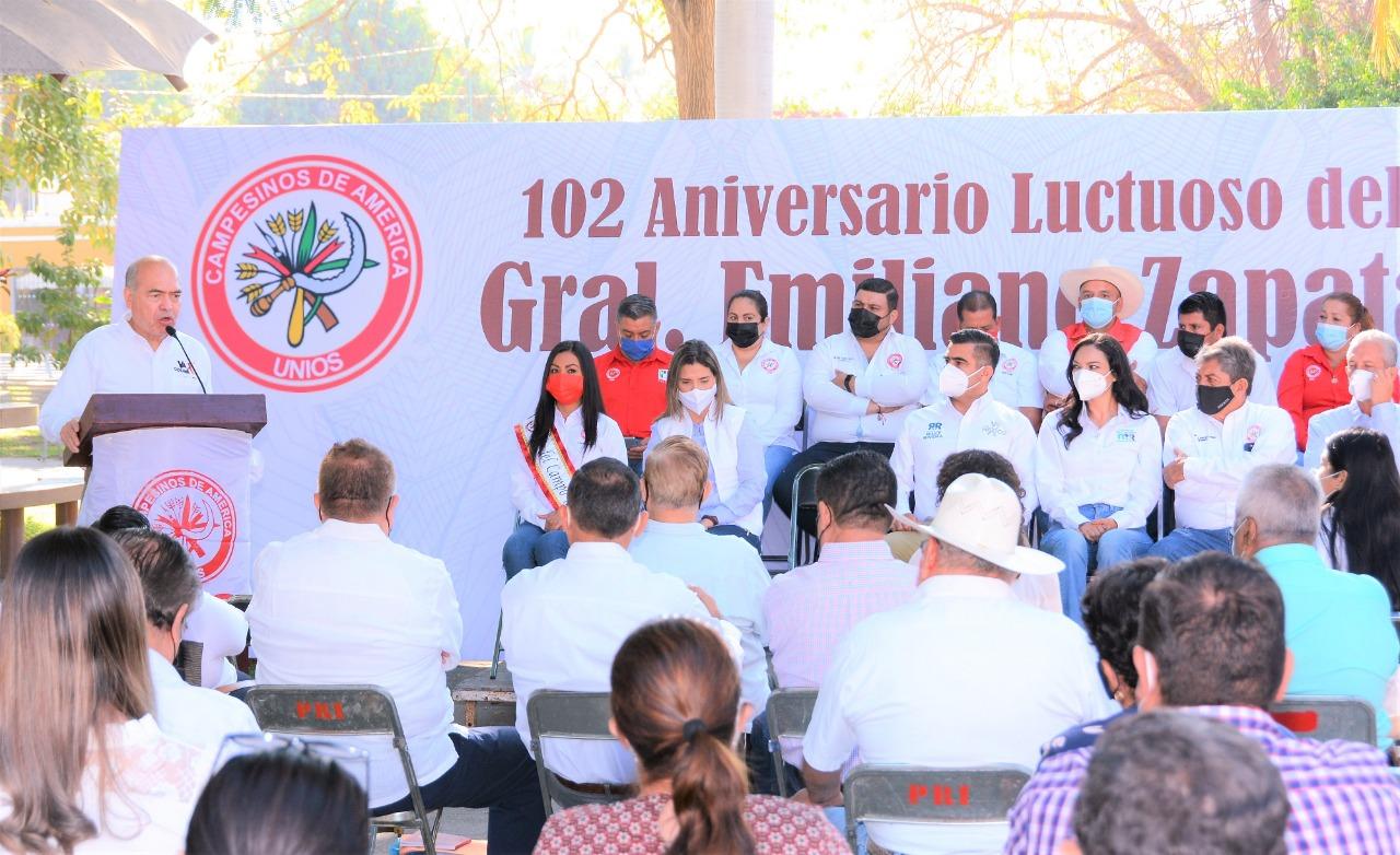 El zapatismo sigue vivo en el corazón de los campesinos colimenses: Arnoldo Ochoa