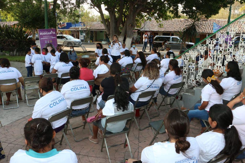 Habitantes de la Estancia hacen alianza con Margarita Moreno