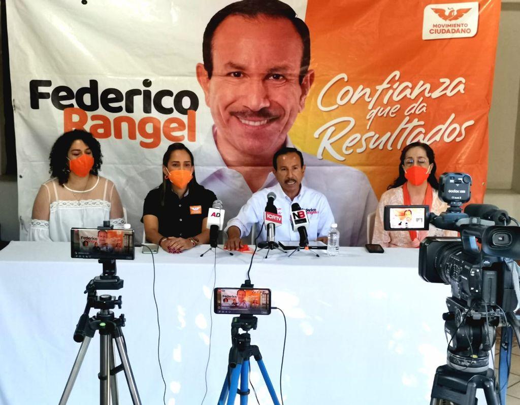 Presenta Federico Rangel su Plan de Gobierno Municipal