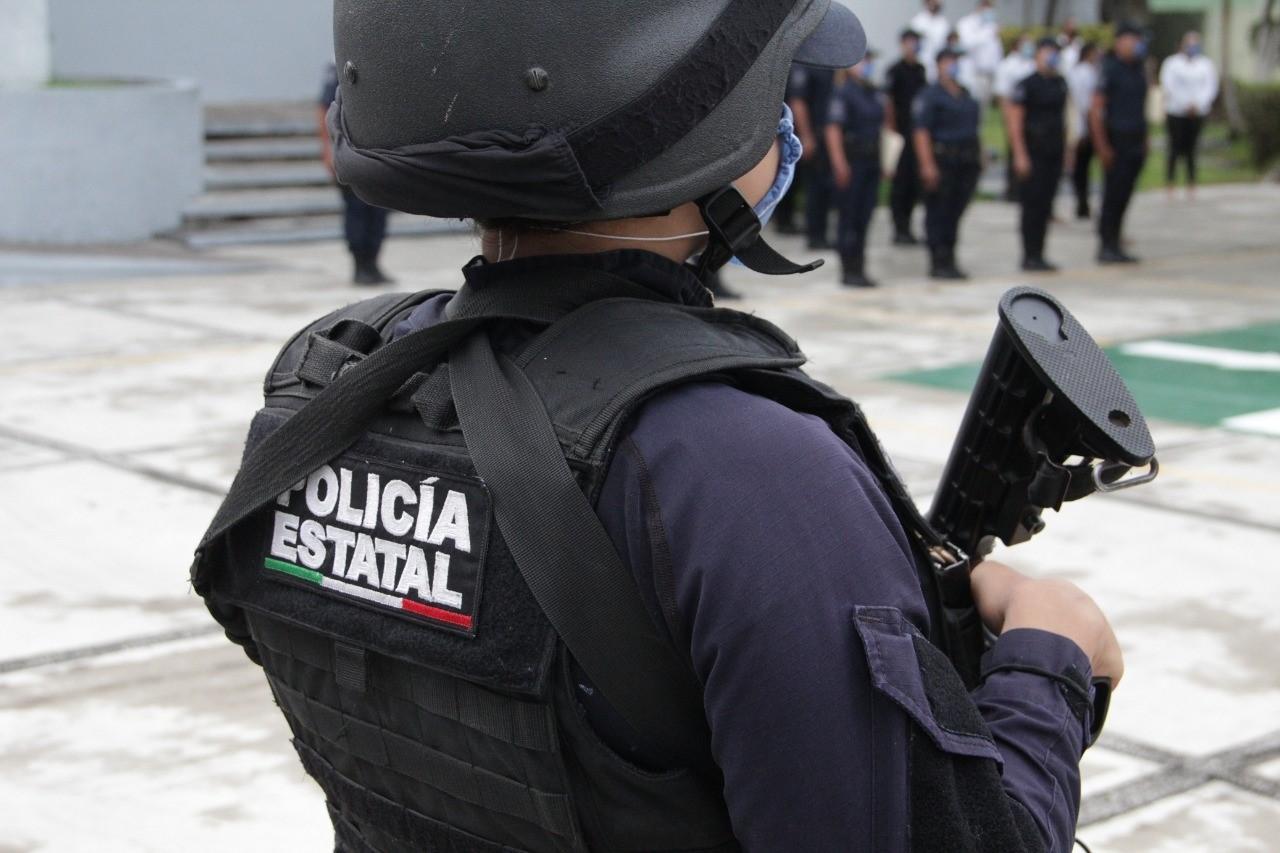 Fuerzas estatales capturan a dos por portación de arma de fuego