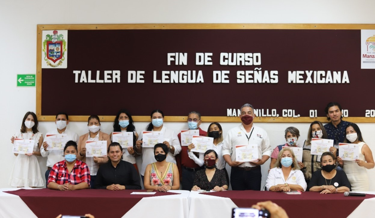Manzanillo es el primer municipio del Estado con atención incluyente con lenguaje de señas