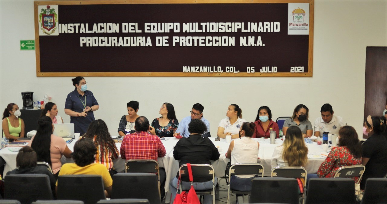 Protegerá derecho de los niños equipo multidisciplinario del Ayuntamiento de Manzanillo